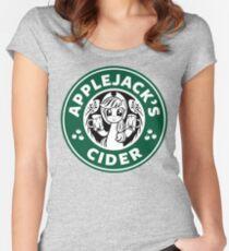 Applejack's Cider Women's Fitted Scoop T-Shirt