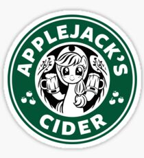 Applejack's Cider Sticker