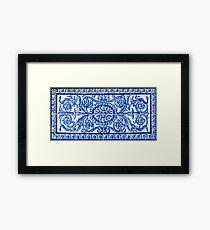 Sevilla Azulejos Dekoration Gerahmtes Wandbild