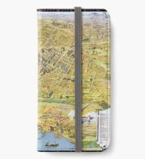 Map of Los Angeles - California - 1932 iPhone Wallet/Case/Skin