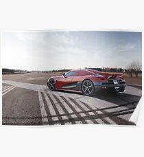 Koenigsegg Agera R Poster