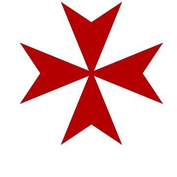 Maltese cross - Knights Templar - Holy Grail -  The Crusades by createdezign
