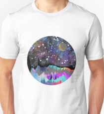 Orion Watercolor Mountain Landscape Unisex T-Shirt