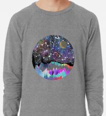 Orion Aquarell Berglandschaft Leichter Pullover