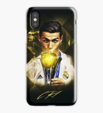 "Cristiano Ronaldo described the 2016 as ""the best year of my career"" iPhone Case/Skin"
