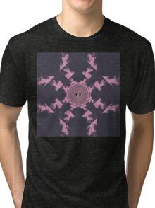 Flume Album Cover Artwork Tri-blend T-Shirt