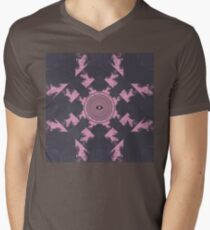 Flume Album Cover Artwork Mens V-Neck T-Shirt