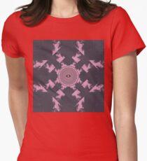 Flume Album Cover Artwork Womens Fitted T-Shirt