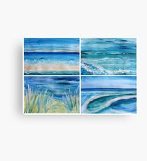A Day by the Sea Canvas Print