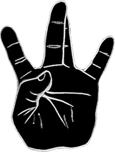 West Side Hand Sign Drawing Eminem Drawing: Sticke...