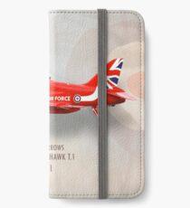 Red Arrows Hawk T1 XX311 iPhone Wallet/Case/Skin