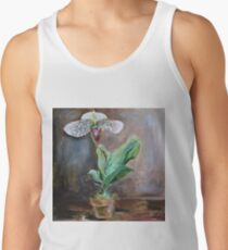 Lady Slipper Orchid Flower in Pot Men's Tank Top