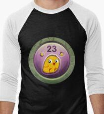 Glitch Achievement pullet provenderizer Men's Baseball ¾ T-Shirt