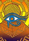 Eye of Horus by Carrie Dennison