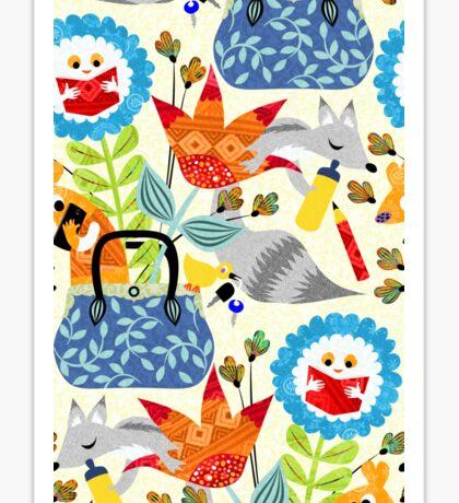 fantasy bag Sticker