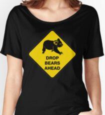 Drop bears ahead Women's Relaxed Fit T-Shirt