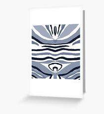 Zebrastreifen Grußkarte