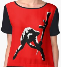 The Clash Chiffon Top