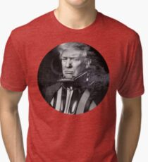 Darth Donald Trump | Dark Lord of the Galactic Empire of America Tri-blend T-Shirt