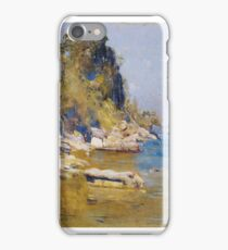 Arthur Streeton ,  (Sirius Cove) iPhone Case/Skin