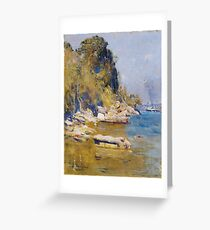 Arthur Streeton ,  (Sirius Cove) Greeting Card