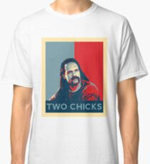Men's Office Space Neighbor Lawrence - Two Chicks Same Time  Classic T-Shirt