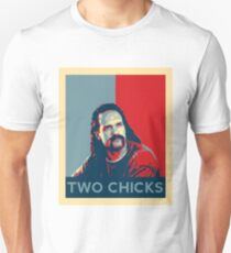 Men's Office Space Neighbor Lawrence - Two Chicks Same Time  T-Shirt