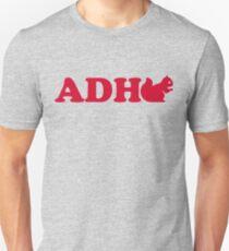 ADHD Squirrel Unisex T-Shirt