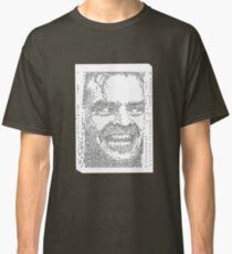 Typewriter: All work and no play makes Jack a dull boy Classic T-Shirt