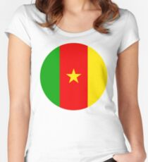 Cameroon, Cameroun Women's Fitted Scoop T-Shirt