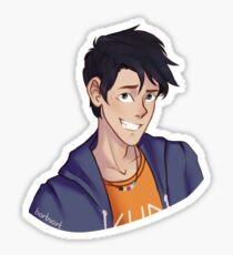 Percy Jackson Bust Sticker