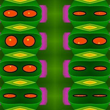 Alien Eyes by JLHDesign