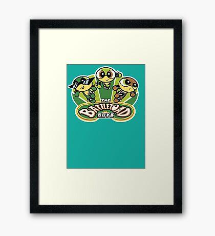 The Battletoad Boys Framed Print