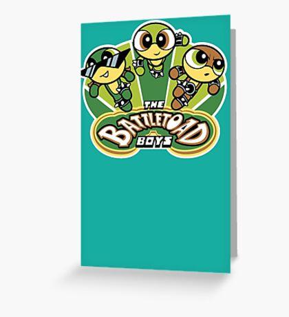 The Battletoad Boys Greeting Card