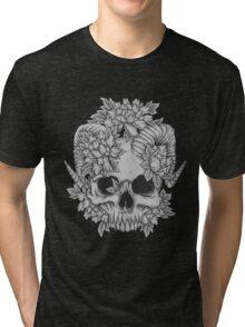 Japanese Skull Tri-blend T-Shirt