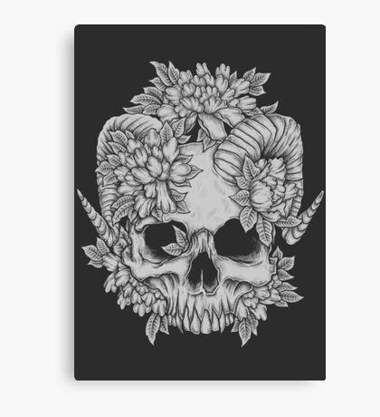 Japanese Skull Canvas Print