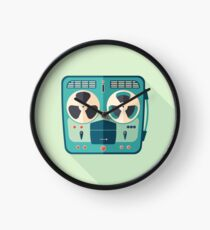 Reel to Reel Tape Recorder Clock