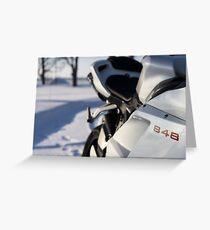 Ducati 848 Greeting Card