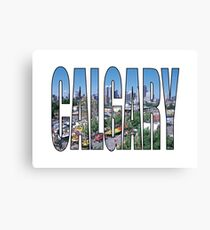 Calgary Canvas Print