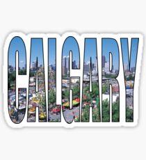 Calgary Sticker