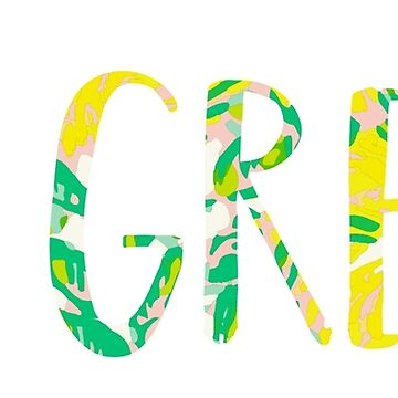 Go Greek Lilly Inspired by theroyalsass