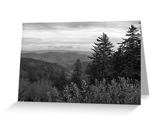 {layers of nature} Greeting Card