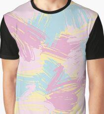 Funny pastlel brush strokes Graphic T-Shirt