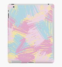 Funny pastlel brush strokes iPad Case/Skin