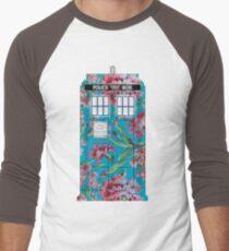 Floral Tardis 1 T-Shirt