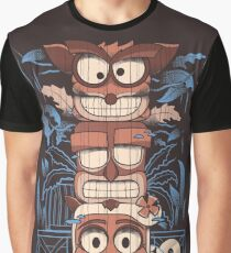 C.Totem Graphic T-Shirt