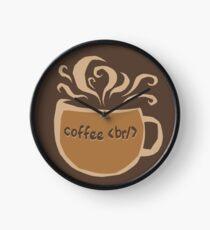 Coffee Break Clock