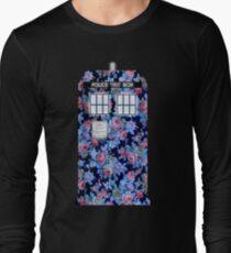 Floral Tardis 2 T-Shirt