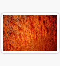 Burnt orange Sticker
