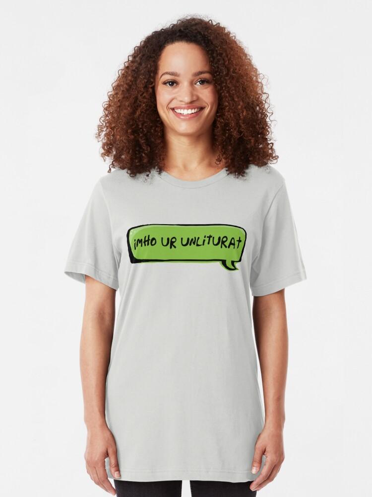 Alternate view of Texting Generation Slim Fit T-Shirt